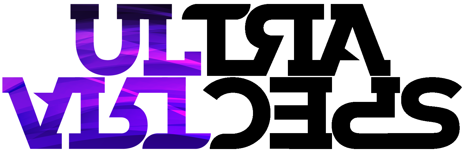 UltraSpectra Purple Grains Logo